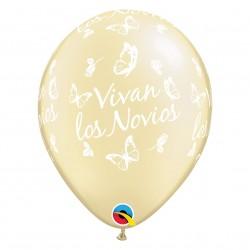 BALÕES BRANCOS/ MARFIM VIVAN LOS NOVIOS