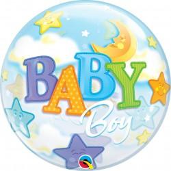 BALÃO BUBBLE BABY BOY