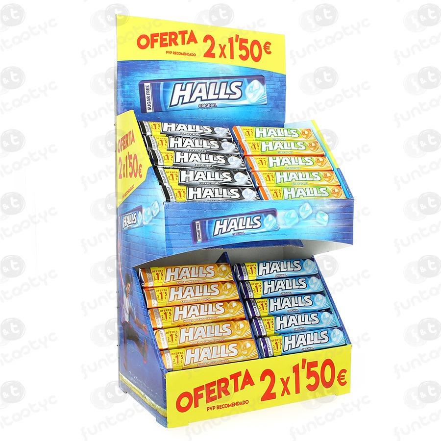 HALLS VITA C SURTIDO S/A 20 U