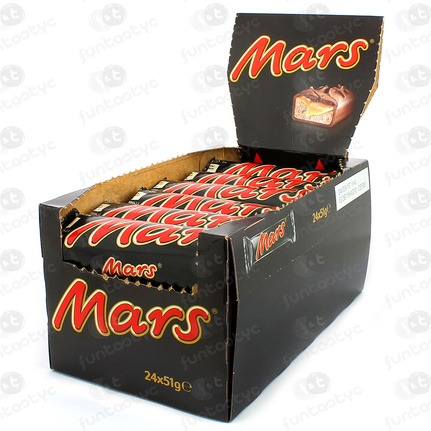 CHOCOLATE MARS SINGLE