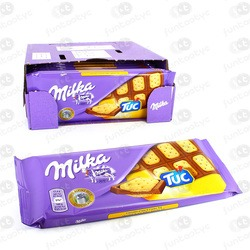 TABLETE CHOCOLATE MILKA TUC