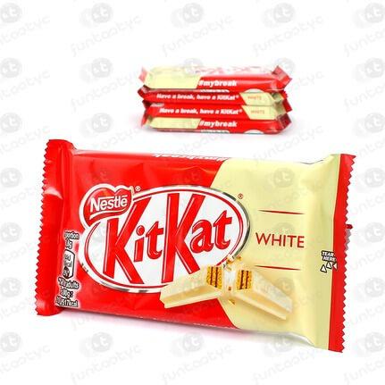 CHOCOLATE KIT KAT WHITE