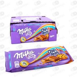CHOCOLATE MILKA CHIPS AHOY