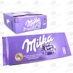 TABLETE DE CHOCOLATE MILKA ALPINE