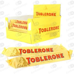 CHOCOLATE DE LEITE TOBLERONE