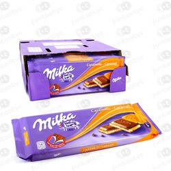 TABLETES DE CHOCOLATE MILKA CARAMELO