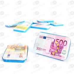 NOTAS DE EUROS DE CHOCOLATE