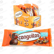 CONGUITOS AMENDOIM E CHOCOLATE