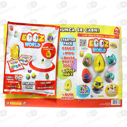 PACK EGG'Z WORLD DA PANINI