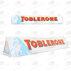 TOBLERONE CHOCOLATE BRANCO MEL E AMÊNDOA