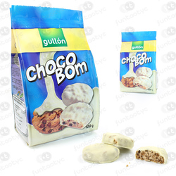 BOLACHAS GULLON CHOCOBOM BRANCO