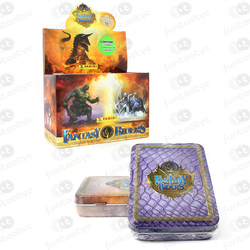 METAL BOX FANTASY RIDERS 2  DA PANINI
