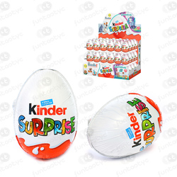 OVOS KINDER SURPRESA DE CHOCOLATE