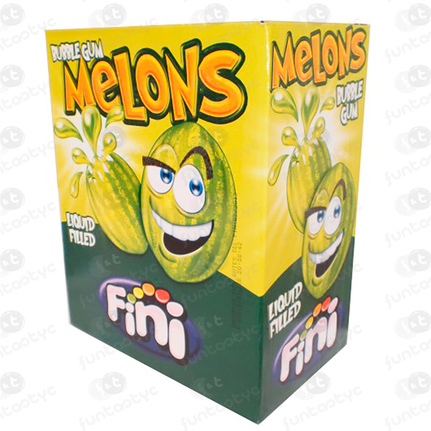 MELONES CHICLE RELLENO 200 UDS