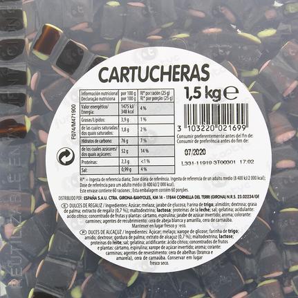 CARTUCHOS REGALIZ HARIBO