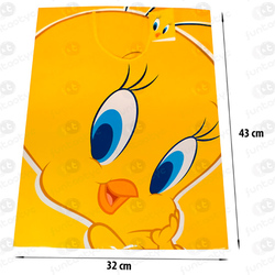 SACO DE PAPEL PARA PRESENTES TWEETY