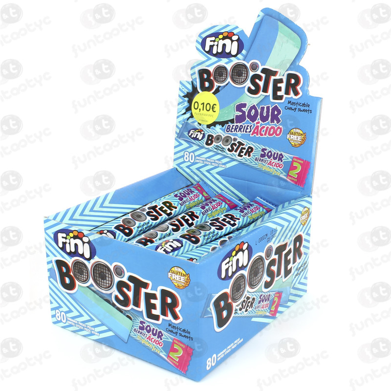 BOOSTER SOUR BERRIES 80 UDS
