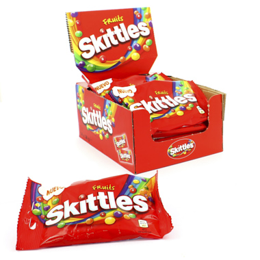 SKITTLES FRUITS DRAGEIAS DE FRUTAS
