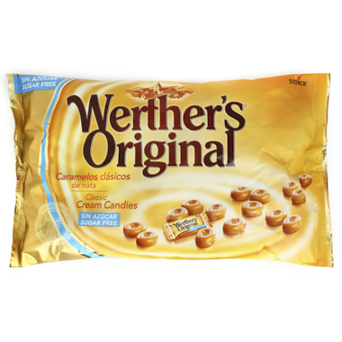 WERTHERS ORIGINAIS SEM AÇÚCAR