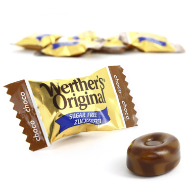 WERTHERS ORIGINAL CHOCOLATE SEM AÇÚCAR