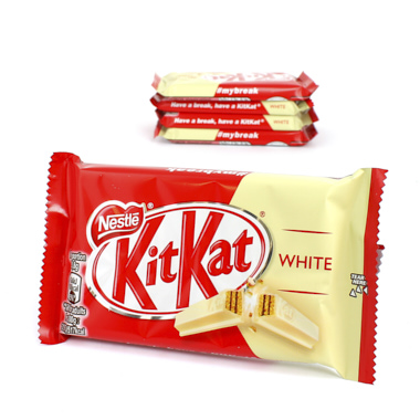 CHOCOLATE KIT KAT WHITE