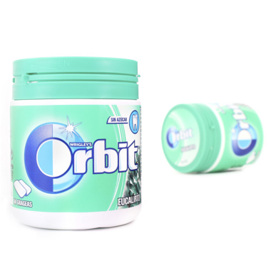 PASTILHAS ORBIT BOX EUCALIPTO DRAGEIAS