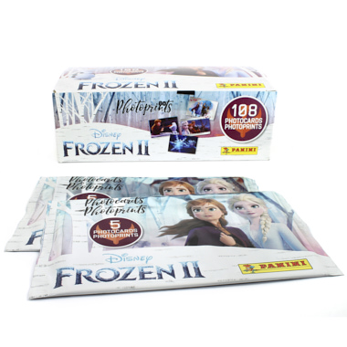 SAQUETAS PHOTOCARDS FROZEN II PANINI