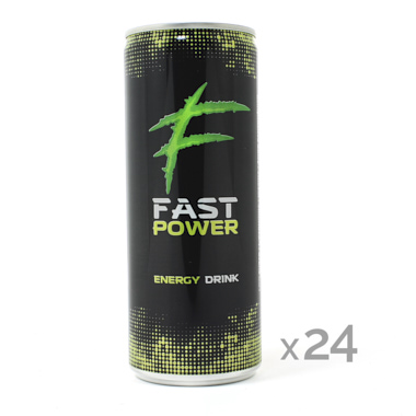 FAST POWER BEBIDA ENERGÉTICA 250 ML
