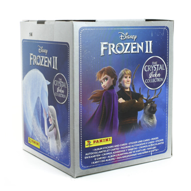 SAQUETAS DE CROMOS FROZEN II THE CRYSTAL