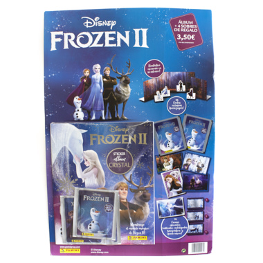 PACK ALBUM FROZEN II THEY CRYSTAL PANINI