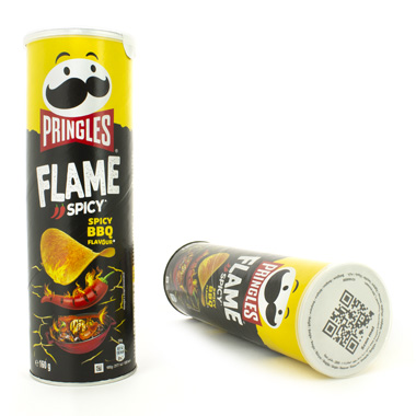 PRINGLES FLAME SPICY BARBECUE